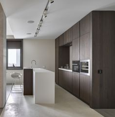 design studio light and airy kitchen interior design studio in a modern style number of light colors furniture emphasize the uniqueness of this dining place
