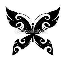 Bildresultat för tribal tatuering fjäril