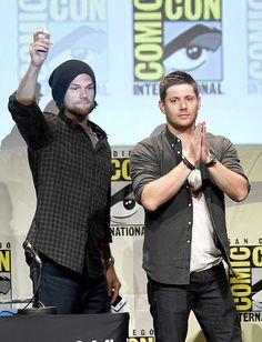 I need my buddy. Supernatural Funny Quotes, Supernatural Tv Show, Jared And Jensen, Jensen Ackles, Geek Crafts, My Buddy, Sam Winchester, Jared Padalecki, Misha Collins