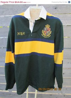 Happy Holidays Vintage Polo Ralph Laren sportsman ski p wing Ralph Lauren  rugby crest crown sweater f9b9b217a086