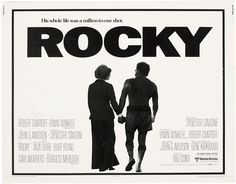 Rocky - Lobby card with Sylvester Stallone & Talia Shire. The image measures 2156 * 1688 pixels and was added on 1 January Famous Movie Posters, Famous Movies, Good Movies, Film Posters, Rocky And Adrian, Rocky 1976, Rocky Poster, Scott Stapp, Burt Young