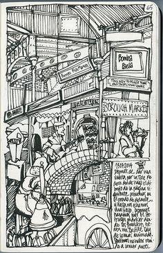 England #12. London, Borough Market. by Freekhand, via Flickr