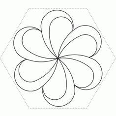 Hexagon Feather