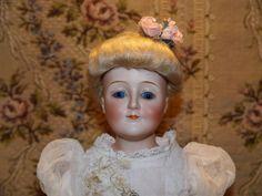Wonderful Cabinet size Kestner Gibson Girl