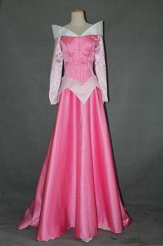 [Sleeping Beauty Aurora Princess Dress Cosplay Costume Custom Made Adult Or Girls #Unbranded #CompleteCostume]