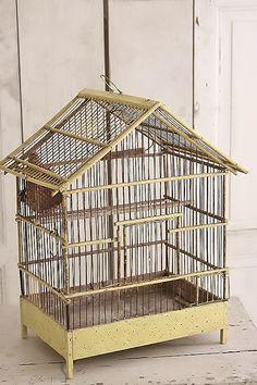 vogelkooi / French birdcage  SOLD