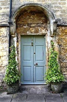 Door in Picardy, France