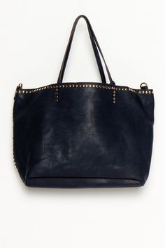 studded tote bag... love!