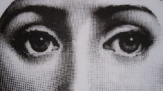 "Plate 83 (detail) from Piero Fornasetti's ""Theme and Variations"" series"