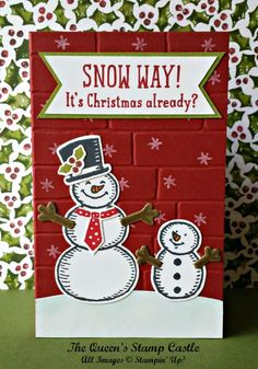 Stampin' Up! Snow Place, Snow Way It's Christmas Already
