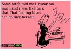 Swearing is FUN! Lol, WARNING offensive memes...