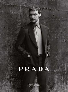 James McAvoy by Annie Leibovitz for Prada F/W 2014-2015