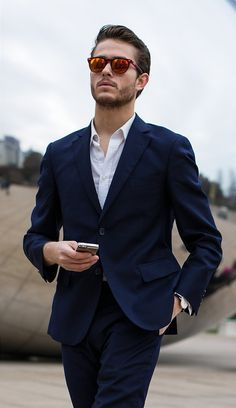 Cobalt 2-button suit