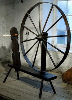 Spinning Wheel by MuseumWales