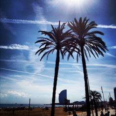 My town #barcelona #beach this city has it all
