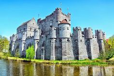 Gravensteen Castle in Belgium is straight out of a fairy tale