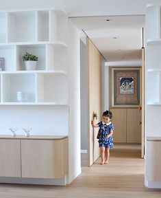 Child-Friendly Home by Bean Buro - InteriorZine