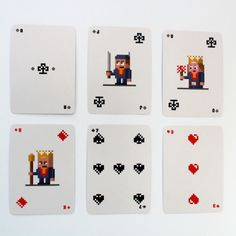 Pixel Poker Cards Game | La Fabrique du Geek