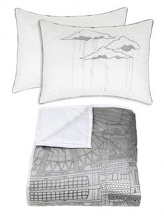 I love these pillows - from Blissliving Home