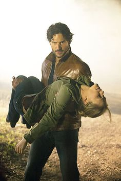 """SEASON 5 TREATS!! I know some are already well-known, but click through for details. 1. """"A major thing happens to Luna early in the season...it's going to change her life forever."""" 2. Chris Meloni (Law and Order SVU) is Bon Temps-bound! 3. Joe Manganiello (Alcide): """"As you saw at the end of Season 4, he's not taking anyone's shit anymore."""" 4. The latest True Blood script Manganiello read contains """"some Alcide-Sookie stuff. Stuff that makes you really nervous.""""    Click through to read 5 and…"""
