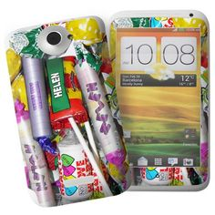 Personalised Sweets HTC One X Phone Skin  from Personalised Gifts Shop - ONLY £7.95