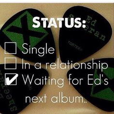 waiting for his next album is like waiting for the next season of GoT Give Me Love, Love Him, Edd Sheeran, Edward Christopher Sheeran, Ed Sheeran Quotes, Real Friends, Music Is Life, Music Bands, Future Husband