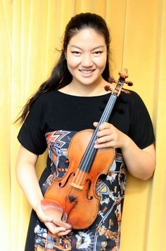 Jinjoo Cho won the 2014 International Violin Competition of Indianapolis. Here is our interview with her: http://www.violinist.com/blog/laurie/20149/16227/