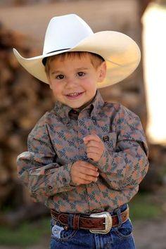 Boys' Shirts Gray Cinch Long Sleeve Button Down Cinch Long Sleeve Button Down – Urban Western Wear Cowboy Baby, Little Cowboy, Cowboy Outfits, Country Outfits, Country Dresses, Western Outfits, Cute Baby Boy, Little Boy Outfits, Baby Boy Outfits