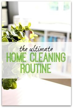 Inspiration and ideas for tasks to create your perfect home cleaning routine. Always be guest ready and have less stress with your home cleaning starting today!