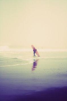 california, surfer, beach, ocean, zen, lifestyle, fine art photograph (sweet eventide)