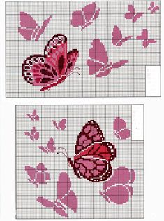 Thrilling Designing Your Own Cross Stitch Embroidery Patterns Ideas. Exhilarating Designing Your Own Cross Stitch Embroidery Patterns Ideas. Butterfly Cross Stitch, Cross Stitch Baby, Cross Stitch Animals, Cross Stitch Flowers, Loom Beading, Beading Patterns, Embroidery Patterns, Loom Patterns, Knitting Patterns