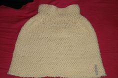 Poncho selbst gestrickt.