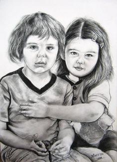 Drybrush Pencil Sketch & Portrait Artist in Delhi NCR Pencil Sketch Portrait, Portrait Sketches, Professional Portrait, Best Portraits, Cool Sketches, Delhi Ncr, Dry Brushing, Charcoal, Oil