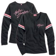 Harley-Davidson® Women's Pink Label Performance Knit Top 99134-14VW