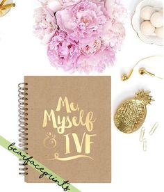 Mymyself & IVF IVF DIARY by BearfacePrints on Etsy