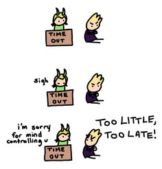 Clint still being mad at Loki for mind controlling him once in time out - Visit…