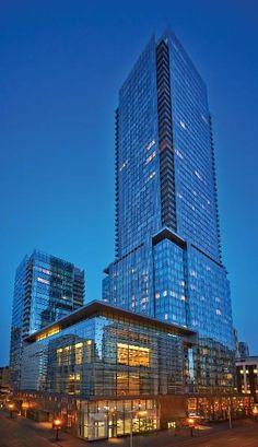 Four Seasons Hotel & Residence - larson ® Space Silver & Night Horizon Blue - Toronto (CANADA)
