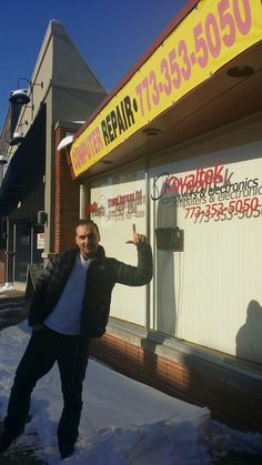 """I was today at """"KOVALTEK COMPUTERS"""" 6689 N Northwest Hwy Chicago IL 60631 CASHBACK """"Always Be Loyal"""""""