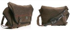 Burton Pack Wool Messenger Bag