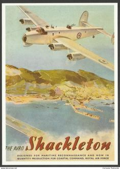 Cornovia_Postcards sells an item for until Thursday, 21 May 2020 at BST in the Advertising category on Delcampe Avro Shackleton, Transport Images, South African Air Force, Air Force Aircraft, Postcards For Sale, Lady Grey, The 5th Of November, Royal Air Force, Vintage Ads