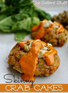 Skinny Crab Cakes / Six Sisters' Stuff | Six Sisters' Stuff