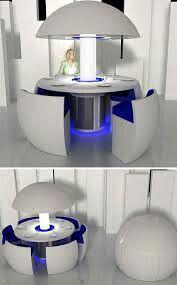 Amazing Modern Futuristic Furniture Design and Concept 11 Space Saving Furniture, Cool Furniture, Modern Furniture, Furniture Design, Plywood Furniture, Painting Furniture, Estilo Interior, Futuristic Furniture, Modern Kitchen Design