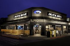 Exterior of The Duck Dive