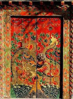 traditional painted beijing doorway - Google Search