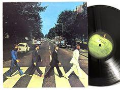 The Beatles - Abbey Road Apple SO-383 Original US Pressing LP Vinyl Record