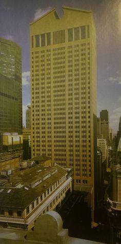 Wieżowiec spółki telegraficznej AT&T w Nowym Jorku, 1978-1982, Philip Johnson i John Burgee