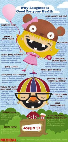How Laughter Impacts Your Health #Infographic #infografía