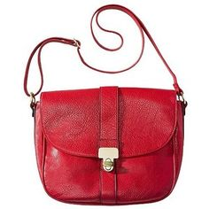 Merona Large Solid Crossbody Handbag