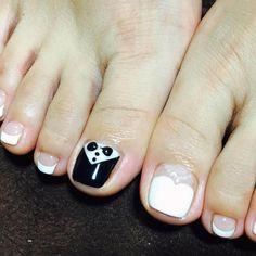 Decoración de uñas para pies Nails, Beauty, Google, Pretty Toe Nails, Handmade Flowers, Nailed It, Finger Nails, Ongles, Cosmetology
