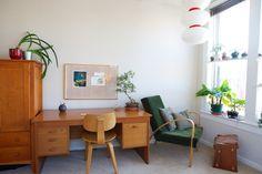 customized pinboard in Eve & Skylar's Everything Handmade Apartment